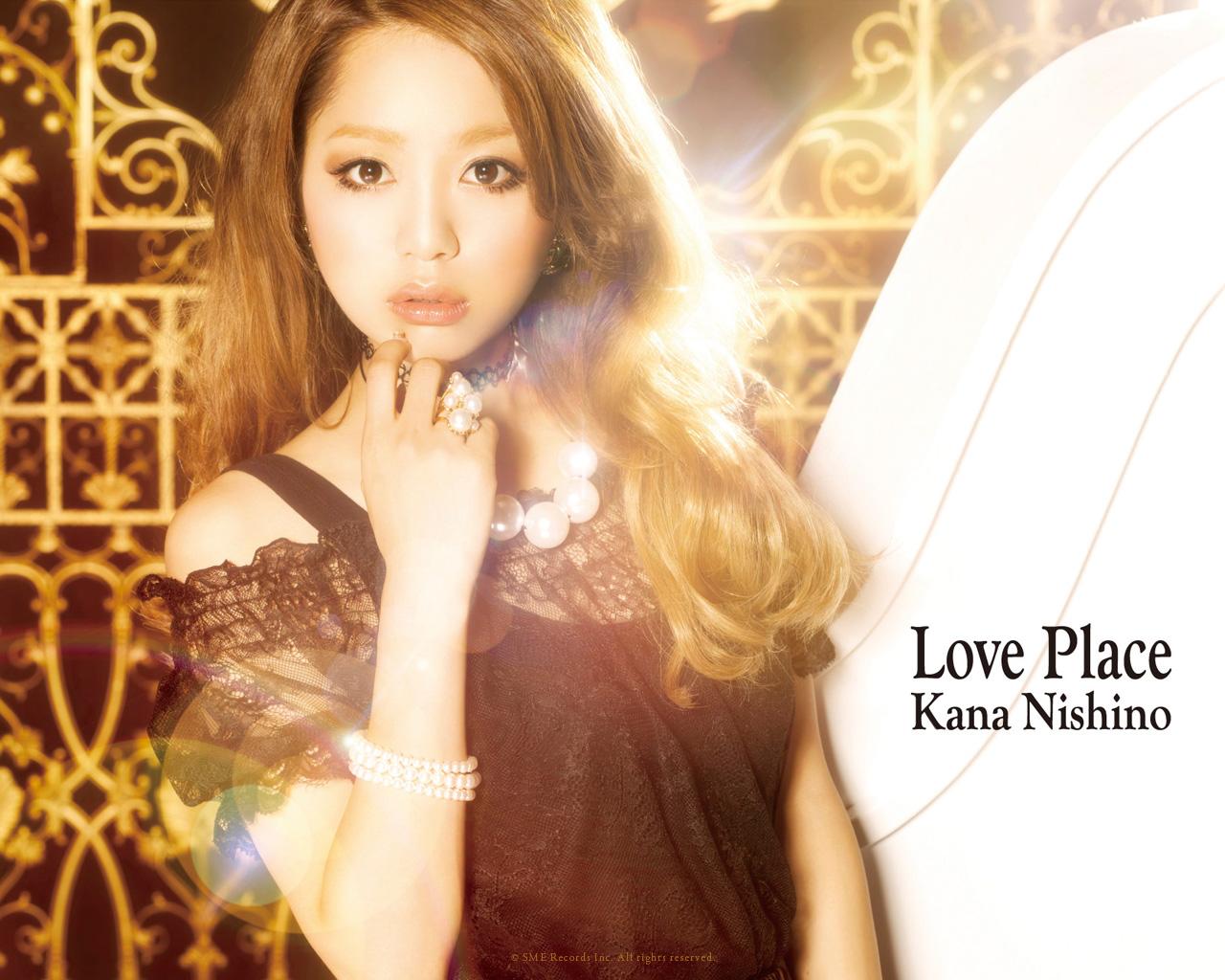 西野 カナ Love Place ジャケット壁紙プレゼント