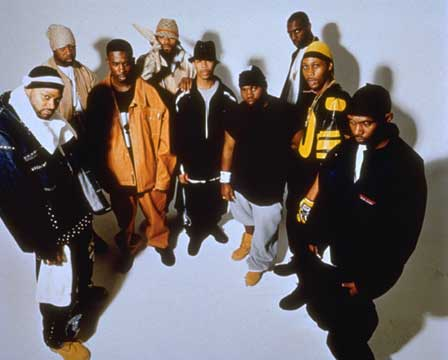 Wu-Tang Clan had an abysmal 5% attendance rate for this photoshoot.