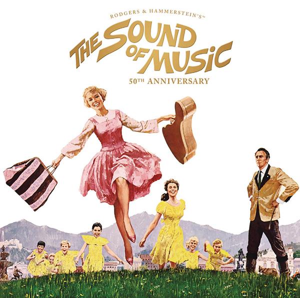 「サウンド・オブ・ミュージック」オリジナル・サウンドトラック50周年記念盤&関連タイトル4月22日発売!
