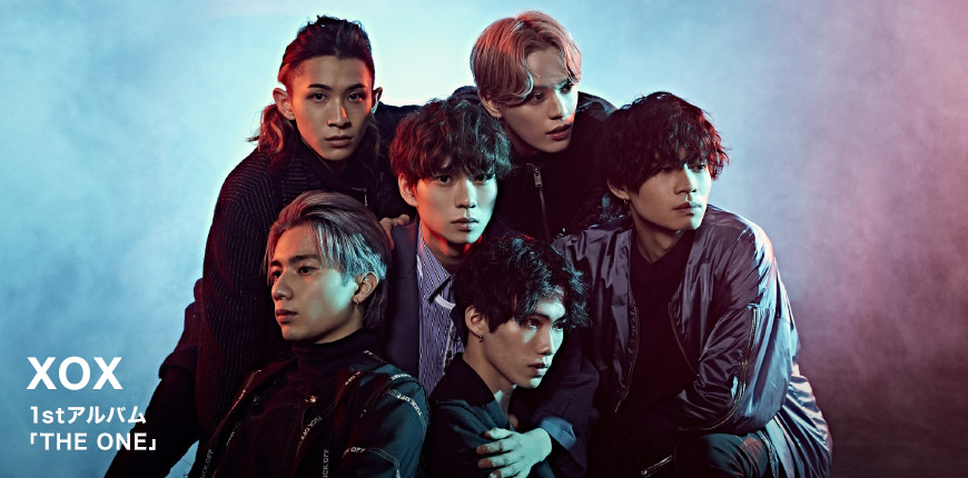 XOX 1stアルバム 「THE ONE」